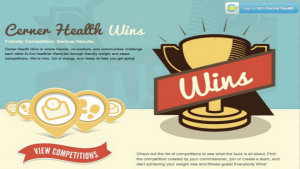 Cerner Health Wins website