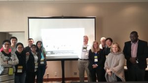 AECT2018 Workshop Group Photo shows IE Lab staff and unknown attendees
