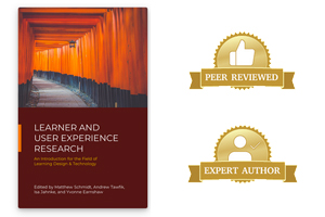 Learner and User Experience Research book cover